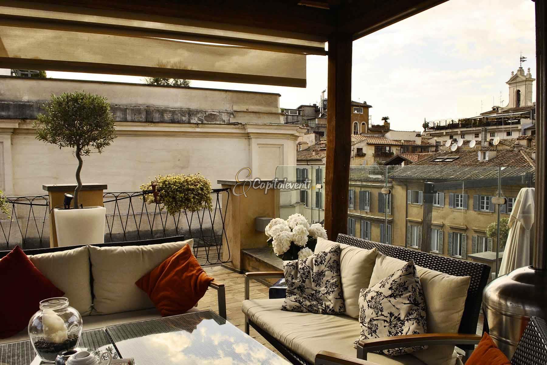Festa 18 anni Terrazza Roma | 347 1167581