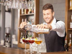 La figura del barman