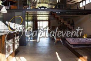 Loft Ardeatina, ideale per una festa di 18 anni: ecco i suoi spazi