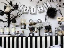 Festa a tema black and white per i 18 anni