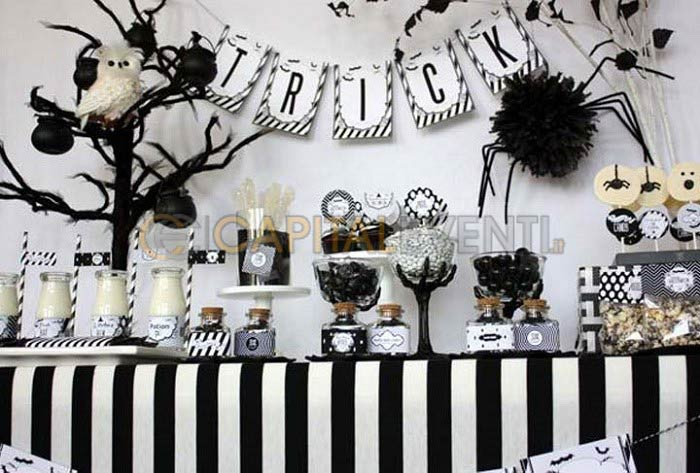Molto Festa a tema black and white per i 18 anni - HO48