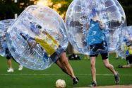 Bubble Soccer con gli amici per festeggiare 18 anni