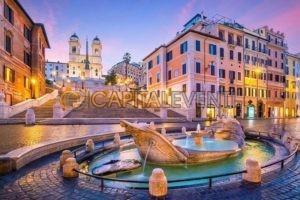 Viaggio a Roma per festeggiare 18 anni