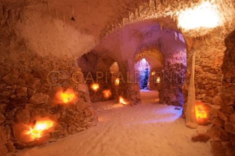 Grotte di sale a Roma