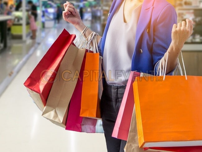 Roma vie dello shopping